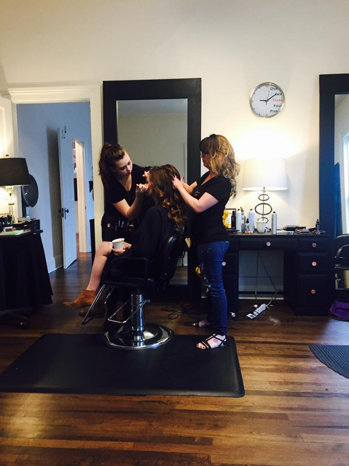 Event Hair and Makeup Services by Salon Veritas in Downtown Raleigh NC