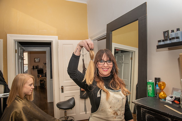 Ashley McCauley Owner and Stylist at Salon Veritas in Downtown Raleigh NC