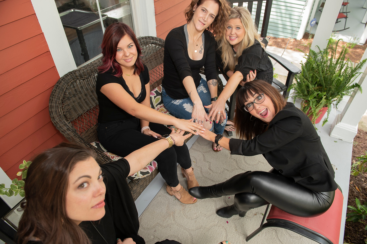 Stylists at Salon Veritas in Downtown Raleigh NC