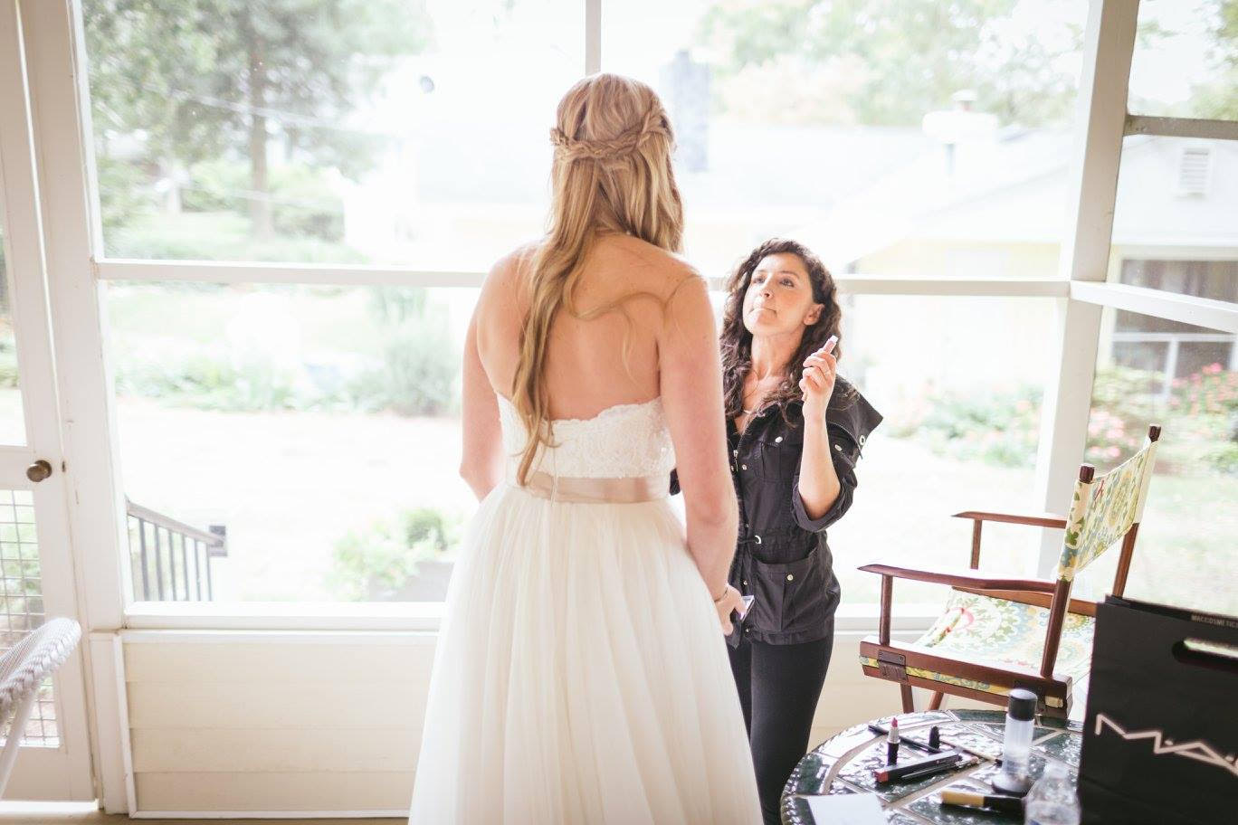 Wedding Hair and Makeup Services by Salon Veritas in Downtown Raleigh NC