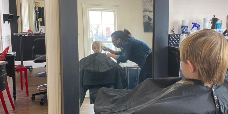 Kids Cuts at Salon Veritas