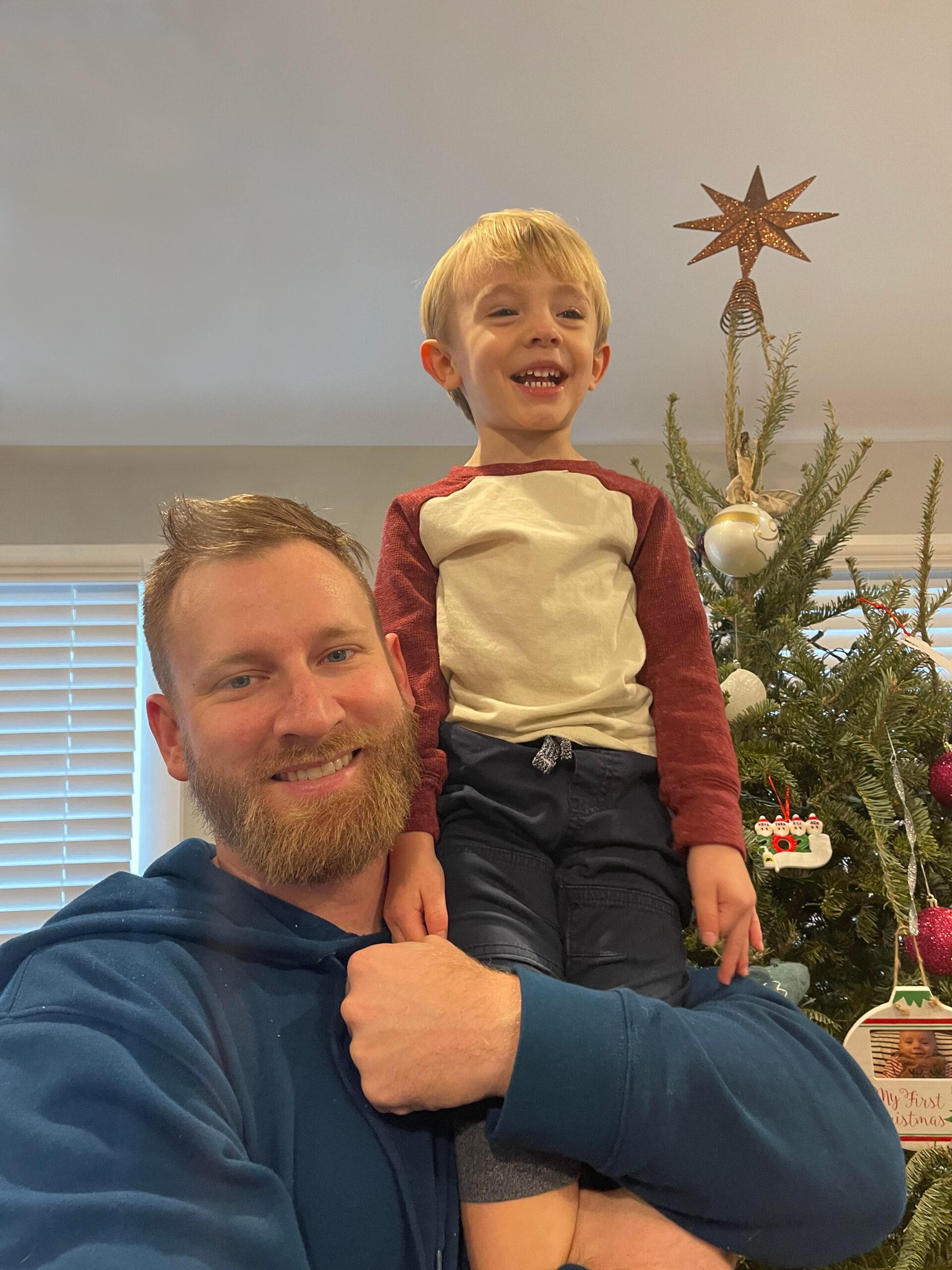 Father-Son Duo Salon Veritas