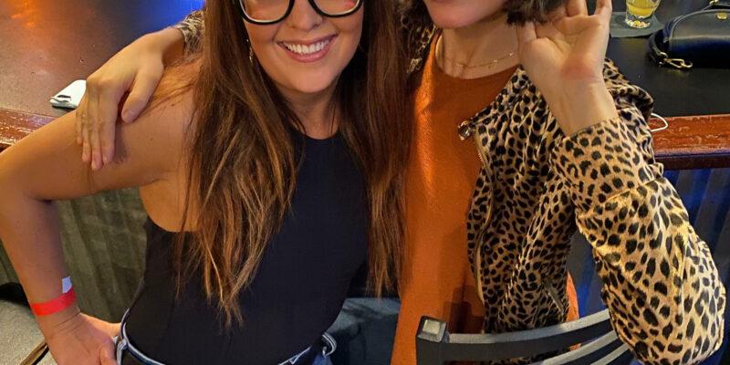 Katie Hannigan and Salon Veritas Owner Ashley McCauley