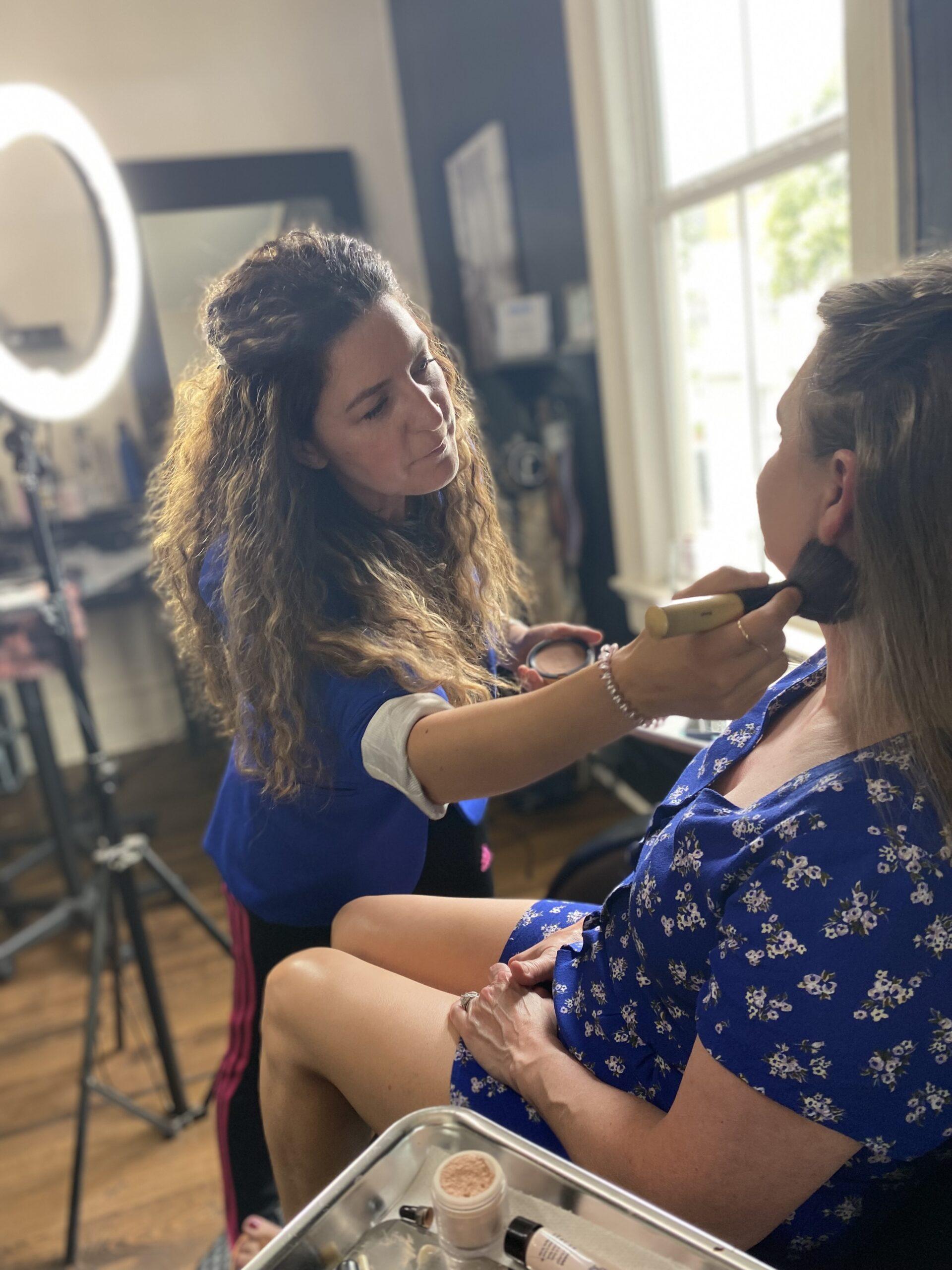Wedding Makeup at Salon Veritas